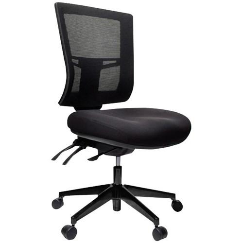 Metro Ii 24 7 Chair Black Officemax Nz