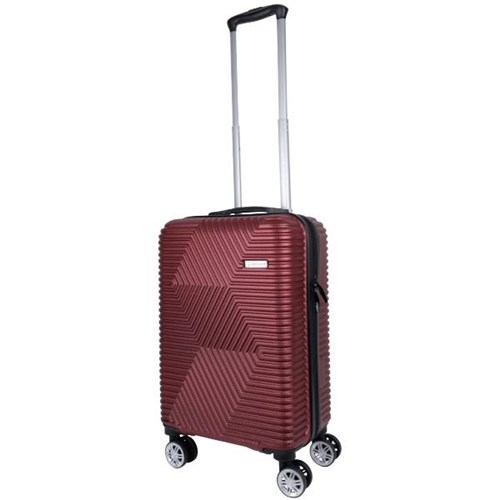 Voyager Wanaka Trolley Suitcase 50cm Red