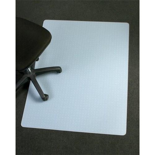 Marbig Polypropylene Frost Chair Mat Medium Pile Rectangle