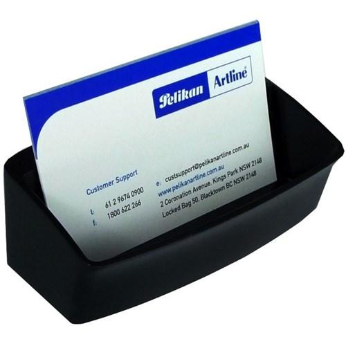 Esselte nouveau business card holder black officemax nz for Officemax business card holder