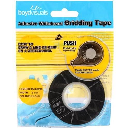Whiteboard Line Gridding Tape 3.0mmx15m | OfficeMax NZ