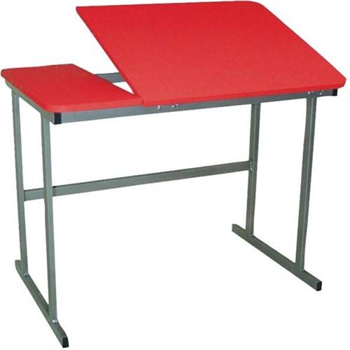 Technical Drawing Art Desk 950mm Red Grey Officemax Nz